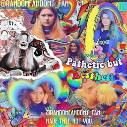 girlinred lesbian gay lgbt aesthetic complexoverlay freetoedit