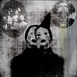 clown scary creepy horror darkness