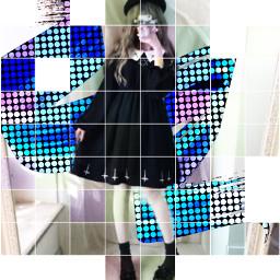 freetoedit girl preety vote koreanstyle gotic goticgirl glack popart backgraunf japangirl cute kawaii kawaiisticker sticker srcpaintribbons paintribbons