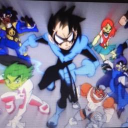 titans teentitans raven superboy beastboy