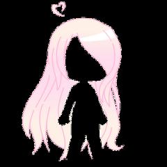 gacha gachalife life club cute adorable kawaii blond blonde pink strawberry hair long pastel aesthetic girl japanese freetoedit