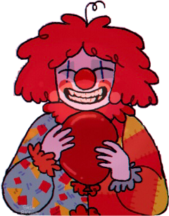 clown notmyart red balloon cute deadly ily clowncheck fypシ freetoedit