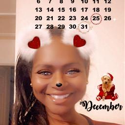 @asweetsmile1 calendar 2020 december blendedimages christmas holiday puppy portrait beautiful queen princess africanart freetoedit srcdecembercalendar decembercalendar
