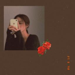 koreangirl aesthetic vhs girl rose preetygirl aestheticgirl vhsaesthetic koreangirlaesthetic freetoedit