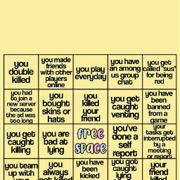 freetoedit storybingos storybingo bingo bingos