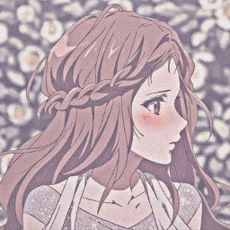 kawaii cute shy love blush red profilepic aesthetic girl anime shinee worried beatiful crown freetoedit
