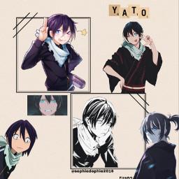 yaboku yabokuedit yato yatoedit yabokuyato anime animeedit animeedits manga noragami noragamiedit yukine happydecember11th december11th boyedit animeboy ilovenoragami freetoedit