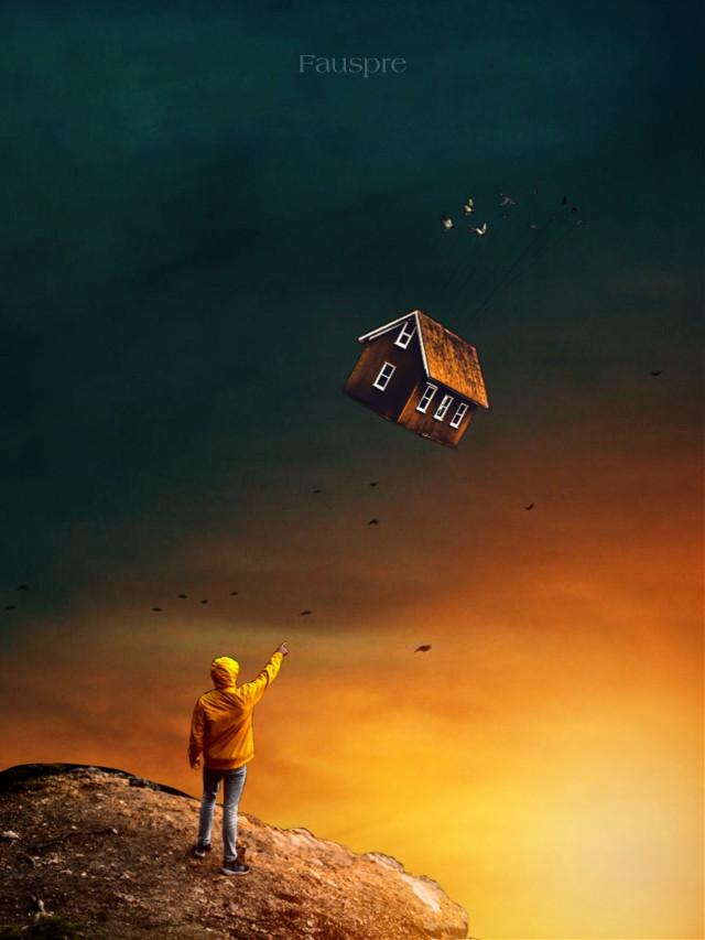 Sweet dreams... #dreams  #home  #surreal  #madewirhpicsart  #myedit  #makeawesome  #editbyme  #visual_creatorz  #heypicsart