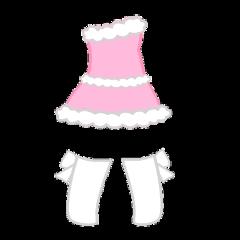 gacha gachalife gachaclub life club christmas pink dress short girl socks high bows ribbons cute aesthetic clothes clothing xmas winter holidays snow adorable pretty freetoedit