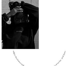 pcedit blackgirlmagic selfportrait editorial blackandwhite birthdaybehavior magazine edit