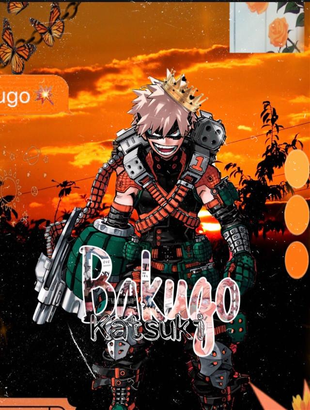 Katsuki Bakugo 🧡 #freetoedit