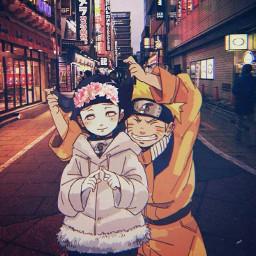 aesthetic naruto narutouzumaki hinata hinatahyuga animecouple
