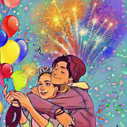 newyear 2021 balloons celebrate freetoedit srcnewyearssparks newyearssparks