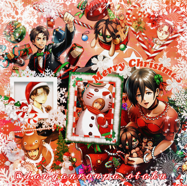 "Merry Christmas everyone!✨❄️🎄💞💖  I know some celebrate it on 25th but I'm uploading it today because I celebrate it on the 24th. If you don't celebrate Christmas then happy holidays (if you have them)? xD  Anyways... I made a little special edit for Christmas. It's an AOT Christmas edit^^ (because of the new season)  Have a great day/night!💖☃️  . . . •••••••••••••••••••••••••••••••••• ✨✨✨✨✨✨✨✨✨✨  ☆𝔄𝔫𝔦𝔪𝔢/𝔐𝔞𝔫𝔤𝔞: Attack On Titan  ☆ 𝔗𝔥𝔢𝔪𝔢: Christmas🎅🎄❄️💞🌟  ✨✨✨✨✨✨✨✨✨✨ ☆𝕊𝕠𝕟𝕘 𝕠𝕗 𝕥𝕙𝕖 𝕕𝕒𝕪: It's Beginning To Look A Lot Like Christmas - Michael Bublé  ☆ 𝔻𝕒𝕥𝕖: 24th December 2020  ☆𝕄𝕠𝕠𝕕: it's raining😢 we don't have any snow here😭💞 but I'm still happy because it's Christmas🥰😌❄️🎄💫  ..... ✨✨✨✨✨✨✨✨✨✨  𝓉𝒶𝑔𝓁𝒾𝓈𝓉:  @_galaxy_fury @tellthemnaegi @chess-edits @-panta_gremlien- @rainych- @victorias_cosplay @24kfeelings @justa_simp @jupiterroses @-boxed-jxice @cynthiajsjsj @orqngecreqm @ultimate-kyoka @manutrucha @sugarrbby @juusiuhqwq @mizu_1608 @ultimatedrfan @animeweeb_uwu- @lunerfrappe @-melted_mondo- @hikqchiin @kayabelle_moon @souwuda_tanaka @psychoweeb @madammomo @im-u_g_l_y @grquplqve @poisonseditss @alaanime_16 @gaang_edits @awhami @-neko_lucy- @dedep_depp @bee_coz @xxmiss_animexx @niquedudes @athy_chan @-strawberry_kisses @sophiedophie2015  ✨💞love you guys💞✨  Comment ""🐥"" to be in my taglist Comment ""🍃"" to get out of my taglist Comment ""🌸"" if you changed your username  ⚠️ Don't steal my edit⚠️ . . . •••••••••••••••••••••••••••••••••  ~tags: #merrychristmas #merrychristmas2020 #christmas #christmasedit #anime #animeedit #aot #aotanime #aotedit #attackontitan #attack_on_titan #attackontitanedit #red #animechristmas"