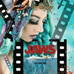filmstar filmstrip shark jaws stevenspielberg movie blockbuster iconic girl beachbabe beach ocean droneview imagination myimagination stayinspired create creativity justforfun justforlaughs doubleexposure madewithpicsart heypicsart freetoedit