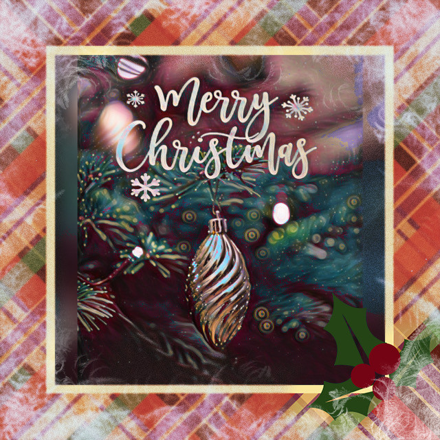 #christmas #christmascard #christmastree