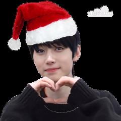 sunghoon parksunghoon enhypen enhypensunghoon sunghoonenhypen santa merrychristmas christmas kpop kpopchristmas freetoedit