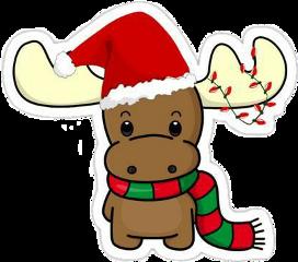 christmas brown happy light freetoedit