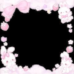 edit edits kawaii bunny bunnies love anime heart hearts overlay overlays border borders overlaysforedits sticker stickers uwu cute cutesticker stickercute lovesticker freetoedit remixit