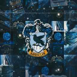 ravenclaw blue harrypotter freetoedit