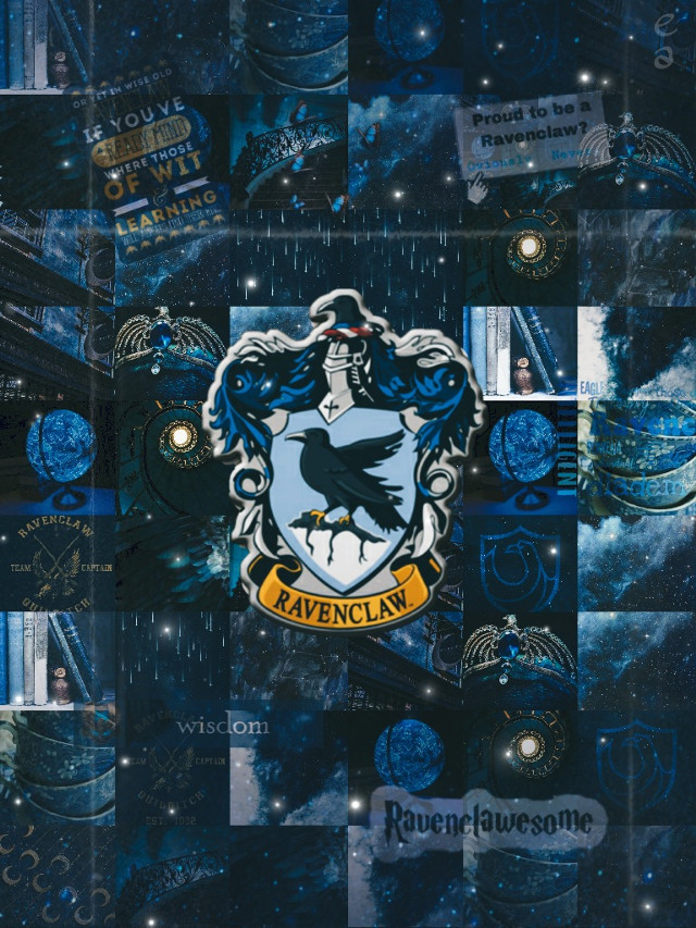Ravenclaw aesthetic #ravenclaw #blue #harrypotter