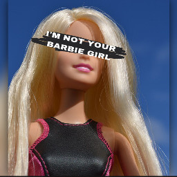 barbie baddie imnotyourbarbie
