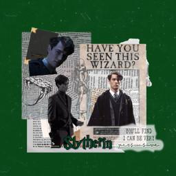 tomriddle tom riddle slytherin green freetoedit