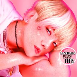exo baekhyun superm pink byunbaekyun kpop baekhyunedit