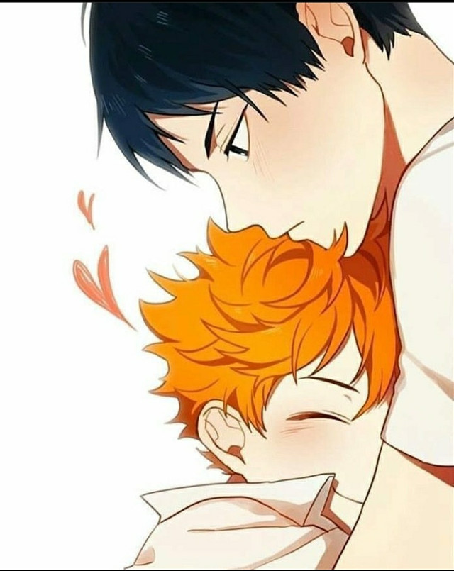 Good morning baby,I hope you get better and try to get some rest    My love♡ { @lil_baby_tangerine }  #kagehina