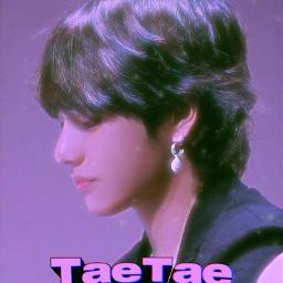 tae taehyung v bts happybirthdaytae freetoedit