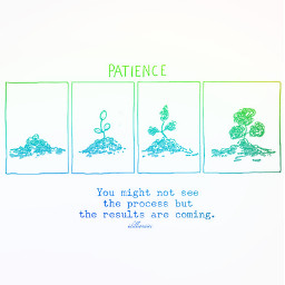 patience silent clam