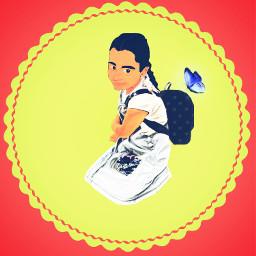 beautifulgirl lovelyfriend angel princess art imagination painting madewithpicsart wallpaper background freetoedit