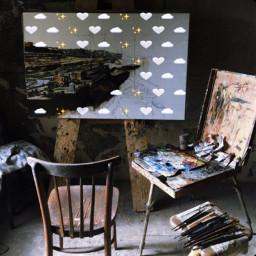 studio painter freetoedit srcmonochromeemojis monochromeemojis