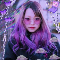 chain corrente pink aesthetic vaporwave rosa translucide egirl girl kawaii cute japan harajuku fofo hellokitty elfgutz melaniemartinez crybaby roxo purple freetoedit