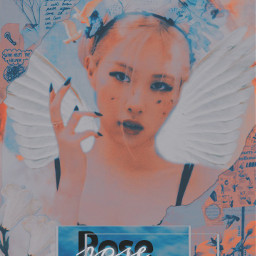 freetoedit rose blackpink kpop aesthetic