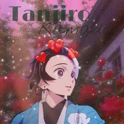 tanjiro demonslayer aesthetic freetoedit