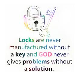 solution key quotes lock