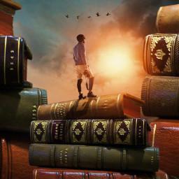 books madewithpicsart heypicsart myedit surreal fauspre story visualart visual_creatorz freetoedit