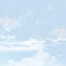 freetoedit sky clouds blue sparkle editedbyme edit heypicsart trending fypシ