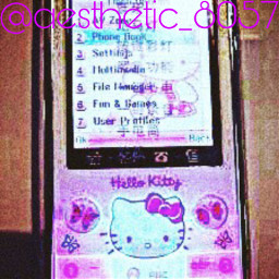 sanriocore hellokitty purple phone follow4follow spam4spam