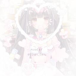 softedit animeedit anime nekopara nekogirl nekocore kawaii cute adorable neko softcore babycore