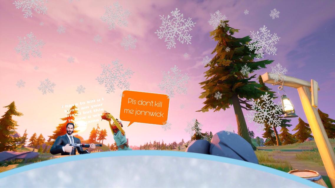 #fortnite snow 2021 new year update in fortnite season 10