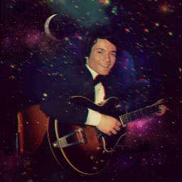 massimoranieri galaxyedit vintageaesthetic canzonissima70 guitar starrynight freetoedit