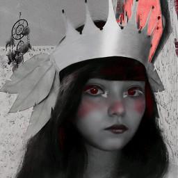 girl girls makeup queen👑 queen makeupselfie freetoedit