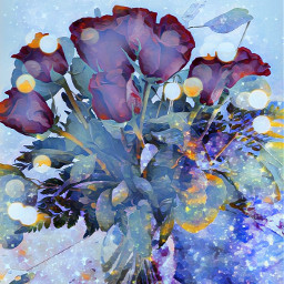 flowers roses engagement loveroses wedding marriage watercolor