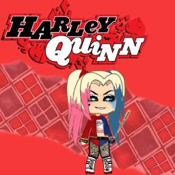 harley harleyquinn red superhero animegirl clothes freetoedit