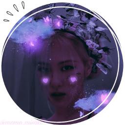 aeasthetic icon purple kpop blackpink rose     ♡🦋♡🦋: @-chae_brries- freetoedit rose