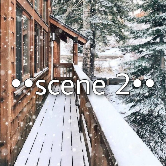 ••scene 2••  *next day around 10 am* {its Christmas eve morning and they all got drunk on eggnog that they found}  Rachel: *waking up, sits up slowly on her bed with one hand on her forehead and the other rubbing her eyes* *speaking softly/tiredly* oh my god what ha- *looks down at what she's wearing which is only a bra and underwear; looks over to her left and gasps, covering her mouth in shock* Austin: *wakes up in Rachel's bed from the noise she is making and falls off the bed when he sees her like that then quickly gathers the sheets around his upper body; only wearing underwear* what the he— Rachel: shh! oh god. oh god, oh god, oh god!! *gets out of bed, looking for her shirt and once she finds it, puts it on* Austin: stop saying that! Rachel: keep your voice down!  Dev: *wakes up, rubbing his eyes, comes out of his room and starts walking down the hallway to check on Rachel* Rachel: *fully dressed, starts pacing slowly by her bedside* we will not speak of this EVER. do not say a word, not even to Dev Dev: *at her door, about to open it but hears what she says and is very confused* Austin: he's my best friend, Rachel Dev:  *takes his hand off the doorknob and trudges downstairs feeling confused, hurt, and betrayed* Rachel: I know, I know and he's my boyfriend but we don't even know what happened last night or if anything happened-- Austin: --between us... Austin: and if I cant tell Dev about this then you can't tell Sophia Rachel: Sophia? why would she care? nvm, nvm I don't even want to know, lets just never talk about any of this ever and act like nothing happened. Austin: ok, fine... Rachel: *closes the door carefully behind her and walks downstairs* Sophia: *asleep on the couch* Madison: *sitting on the chair next to the couch drinking water* Dev: *in the kitchen* Madison: *sees Rachel* heyy the party girl's up Rachel: what?! Madison: yeah you were partying a lot last night if you know what I mean  Rachel: I don't know what you mean! I-I  need to go lay dow