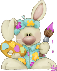 bunny rabbit easter egg freetoedit