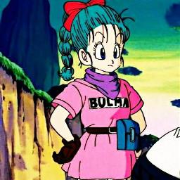 freetoedit bulma dragonball anime manga